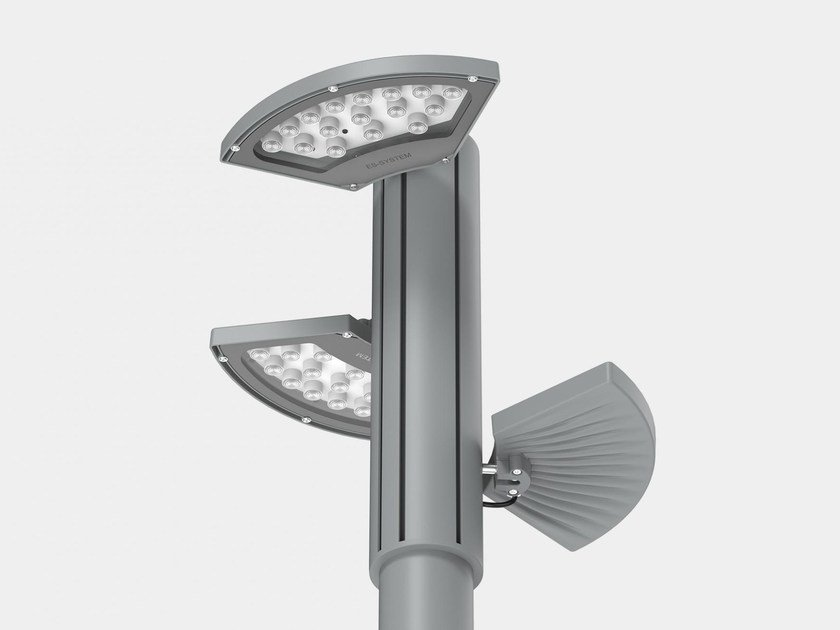 LED die cast aluminium street lamp PARK FLOWER by ES-SYSTEM