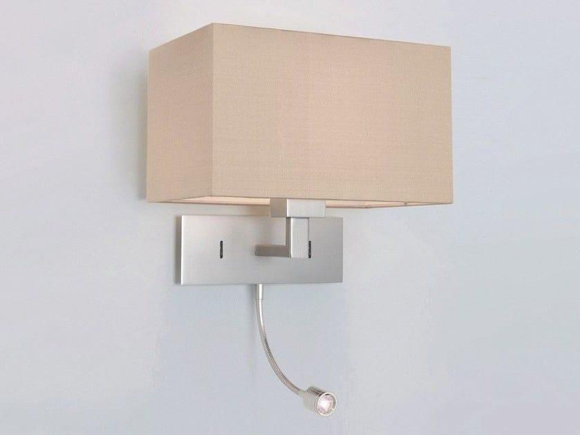 LED steel reading lamp PARK LANE GRANDE   LED reading lamp by Astro Lighting