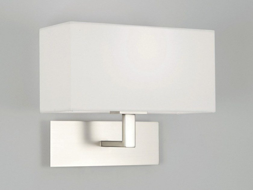 Direct-indirect light steel wall lamp with fixed arm PARK LANE | Steel wall lamp by Astro Lighting
