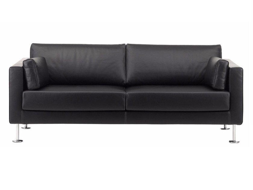 2 seater sofa with removable cover PARK SOFA by Vitra
