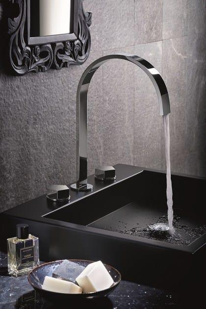 Rubinetto per lavabo a 3 fori da piano PARK | Rubinetto per lavabo by newform