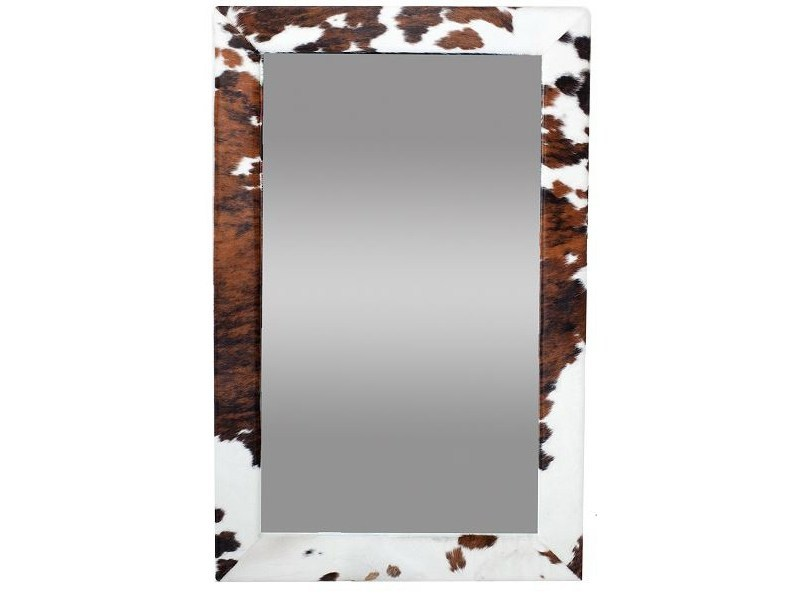 Rectangular wall-mounted framed mirror PARKER by AZEA