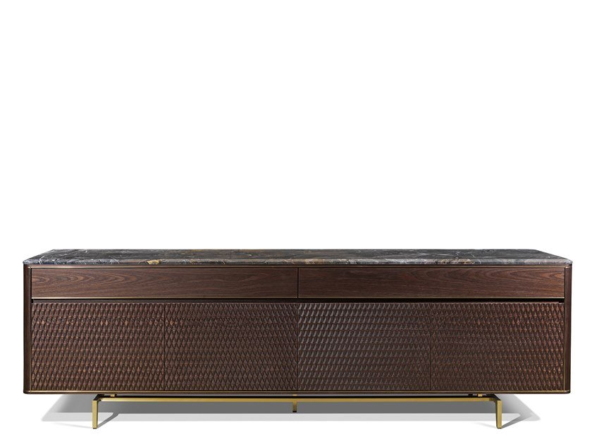 Wooden sideboard with drawers PARKER by Visionnaire