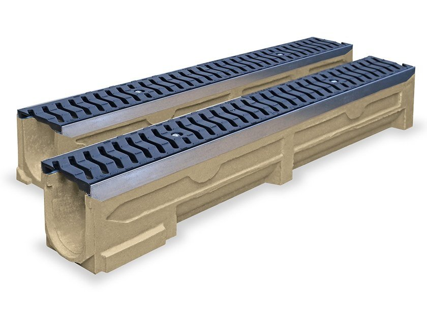 Polymere concrete Drainage channel and part PARKING   Drainage channel and part by Pircher