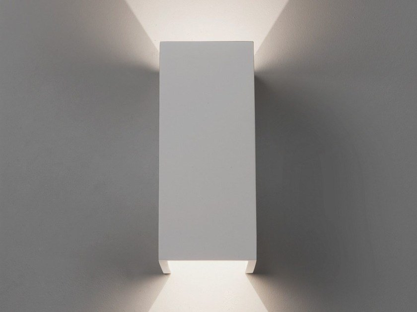 LED direct-indirect light gypsum wall light PARMA 210 | LED wall light by Astro Lighting