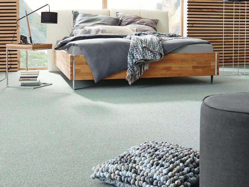 Solid-color carpeting PARMA by Vorwerk Teppichwerke