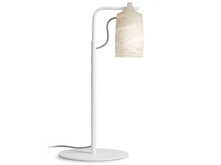 Alabaster table lamp PAROS ALABASTER | Table lamp by Alma light