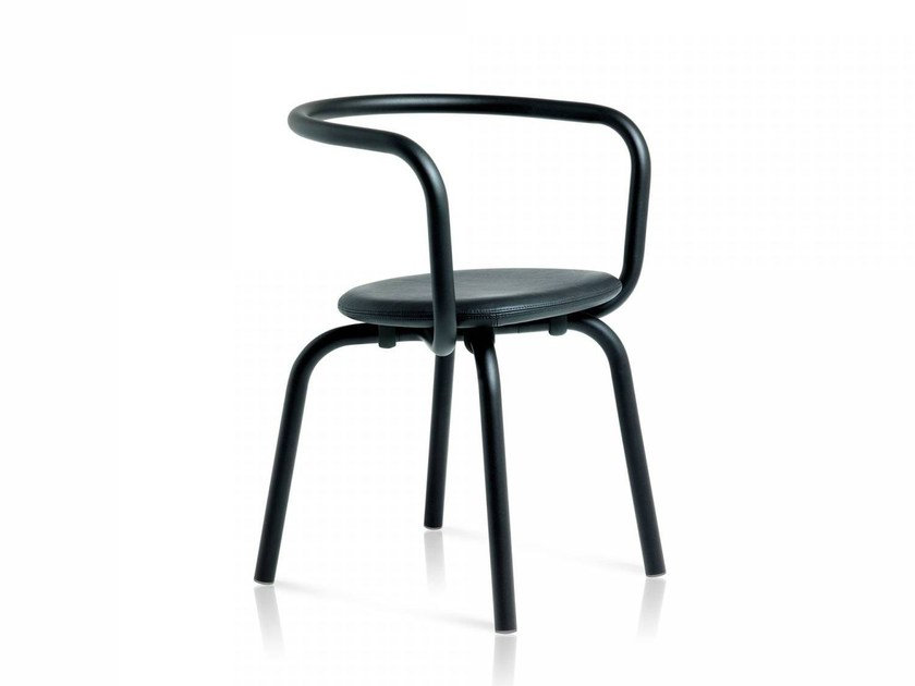 Stackable chair PARRISH | Chair by Emeco