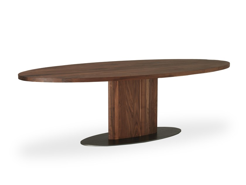 Oval wooden table PARSIFAL | Oval table by Riva 1920