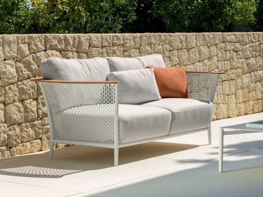 2 seater garden sofa PASCAL | 2 seater garden sofa by Talenti