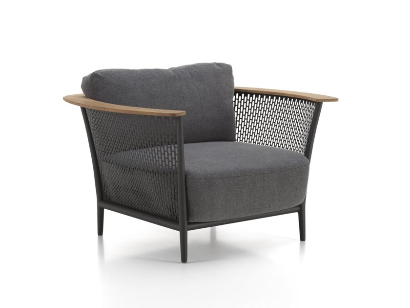 Garden armchair with armrests PASCAL   Garden armchair by Talenti
