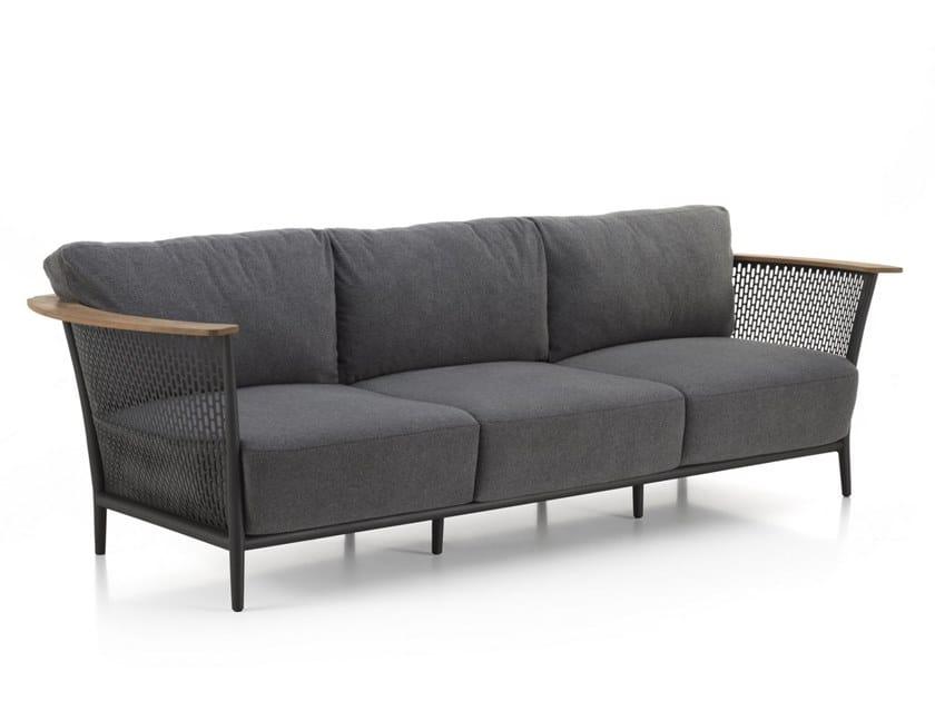 3 seater garden sofa PASCAL | Garden sofa by Talenti