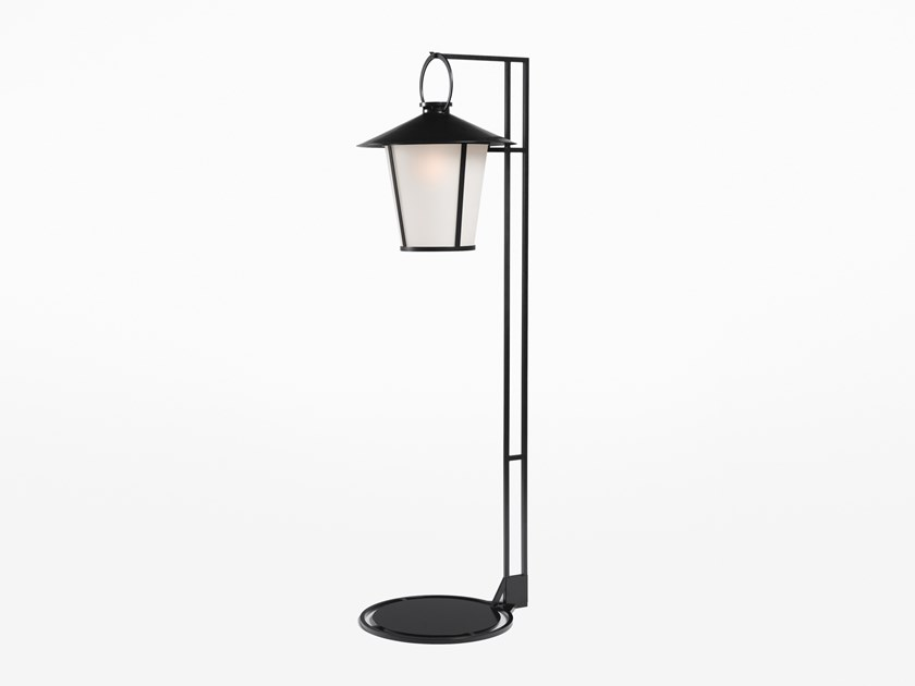 Direct light glass and steel Floor lamp PASSAGE | Floor lamp by Kevin Reilly Collection