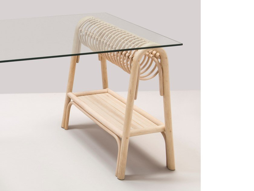 Rattan trestle PASSE-PASSE by Orchid Edition