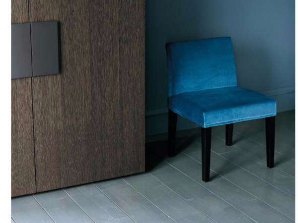 Fabric chair with removable cover PASSEPARTOUT by Casamilano