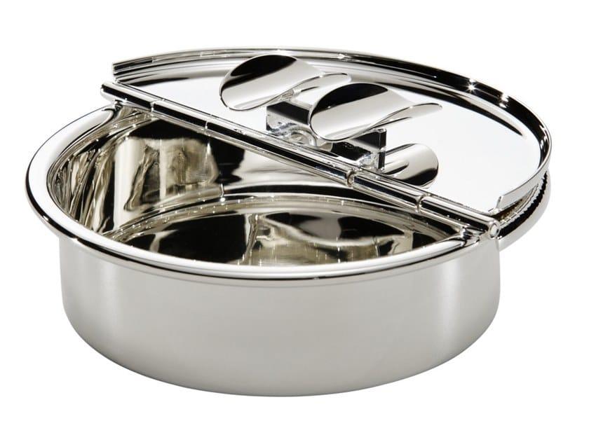Silver ashtray PASSIONI | Ashtray by ZANETTO