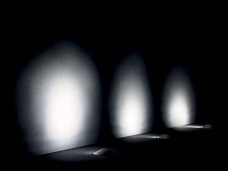 LED walkover light aluminium steplight PASSUM Adjustable by Goccia Illuminazione