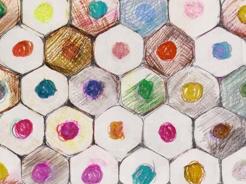 Kids wallpaper PASTEL BOTTOM by Tecnografica Italian Wallcoverings