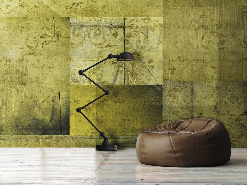 Vinyl or fyber glass wallpaper PATCHWORK by N.O.W. Edizioni