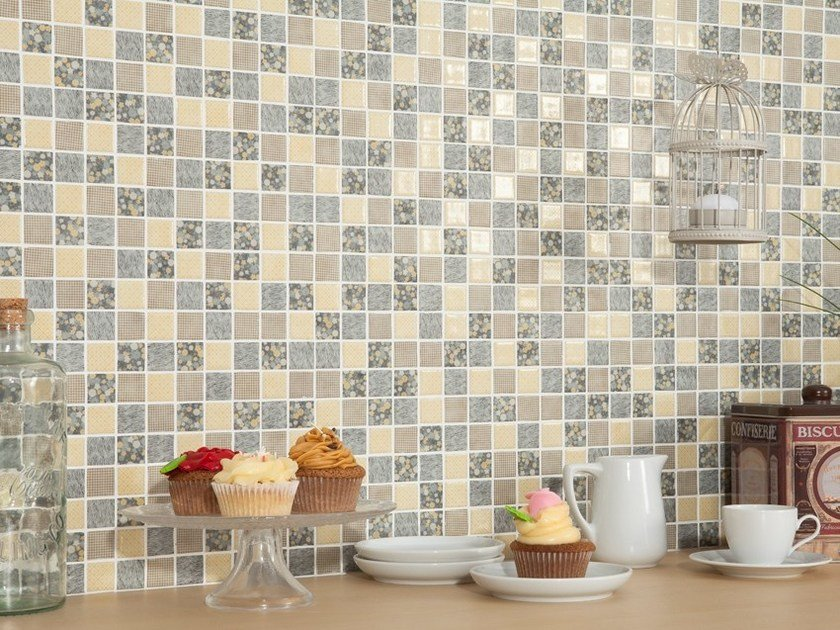 Glass mosaic PATCHWORK by VIDREPUR