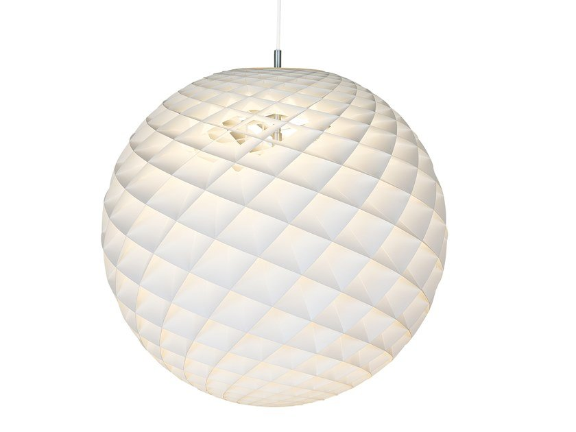 LED PVC pendant lamp PATERA by Louis Poulsen
