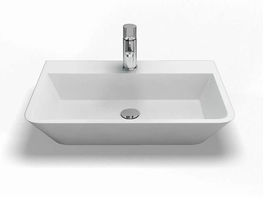 Countertop rectangular washbasin PATINATO   Washbasin by Polo