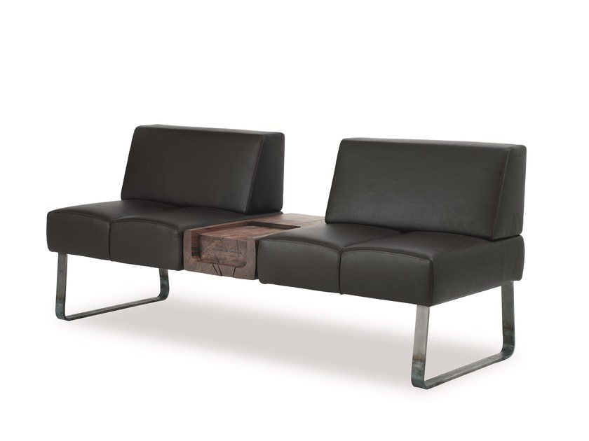 Upholstered bench PATMOS BENCH by Riva 1920