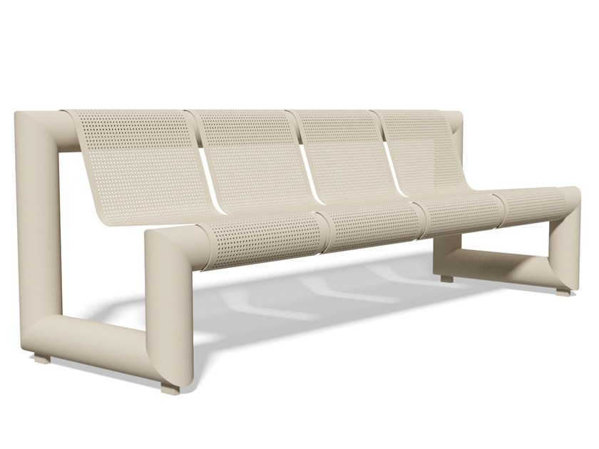 PAUSA 2315 | Bench with back Pausa Series By BENKERT BANKE design ...