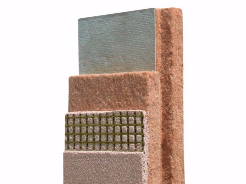 Wood fibre thermal insulation panel PAVADENTRO by Pavatex