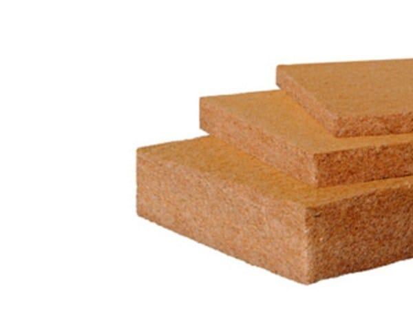 Wood fibre thermal insulation panel PAVAFLEX LIGHT by Pavatex