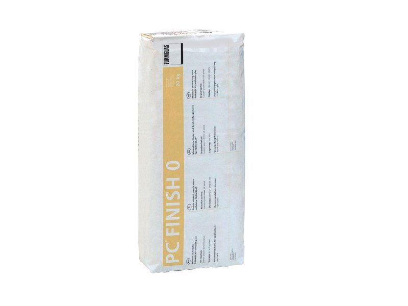 Hydraulic and hydrated lime based plaster PC® FINISH 0 by FOAMGLAS
