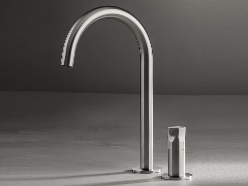 2 hole countertop washbasin mixer PE262 | Washbasin mixer by MGS