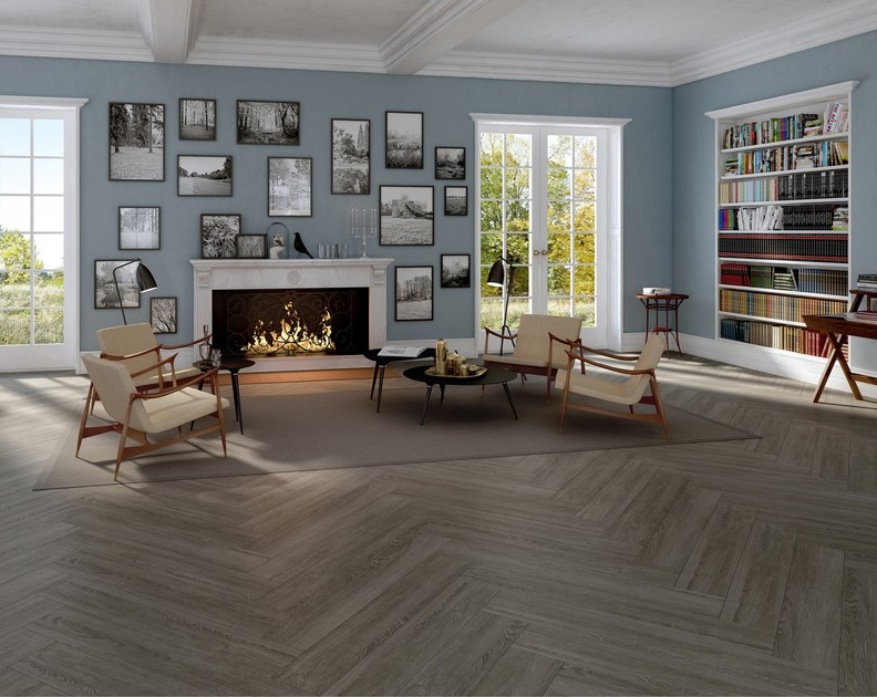 Ecological flooring with wood effect PEARL by Vorwerk Teppichwerke