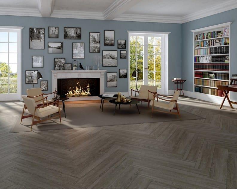 Ecological flooring with wood effect PEARL by Vorwerk Teppichwerke