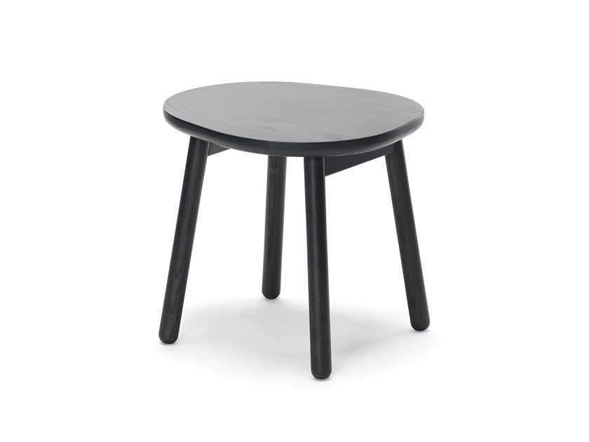 Ash coffee table for living room PEBBLE S by Zilio A&C