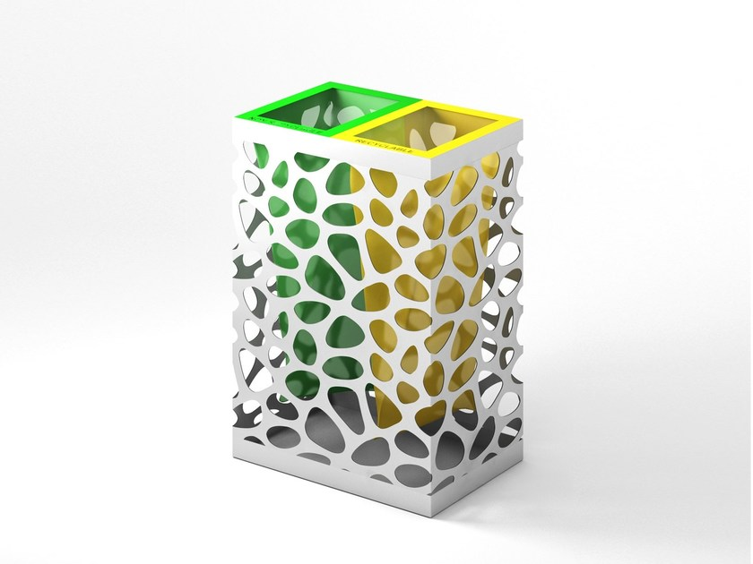 Litter bin for waste sorting PEBBLES by LAB23
