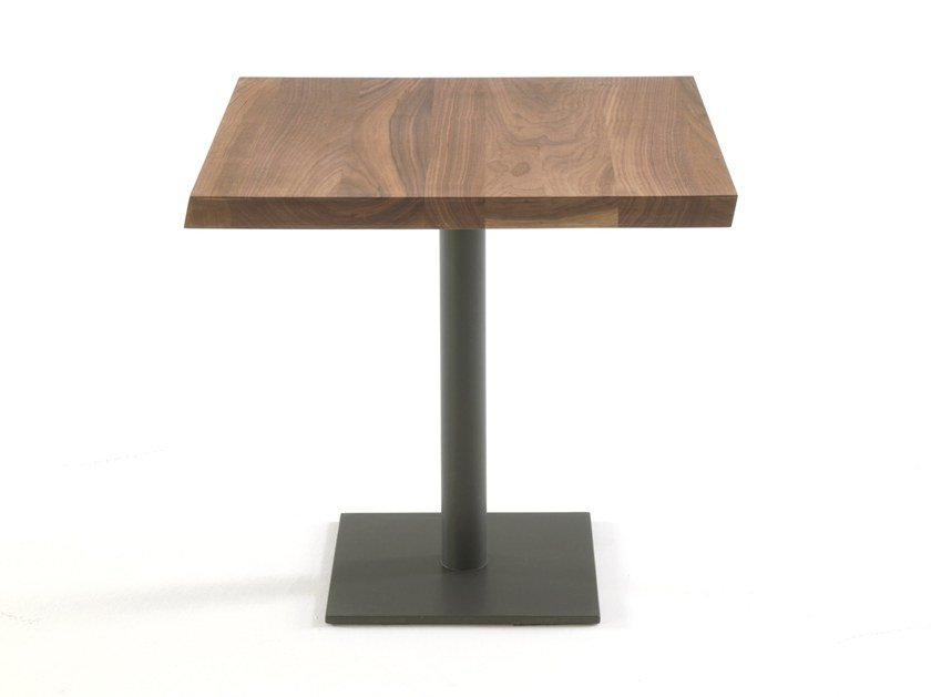 Square solid wood table PEBBLES SQUARED by Riva 1920