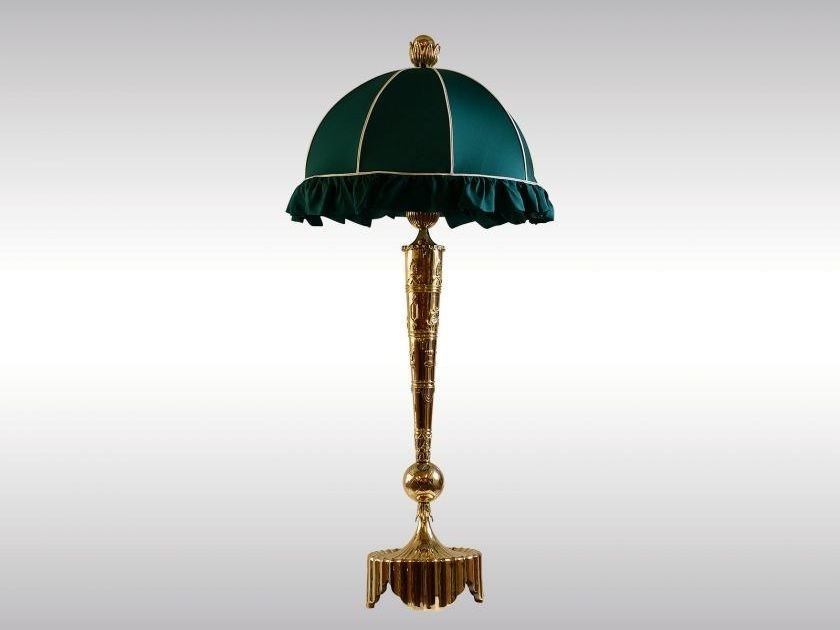 Brass table lamp PECHE | Table lamp by Woka Lamps Vienna