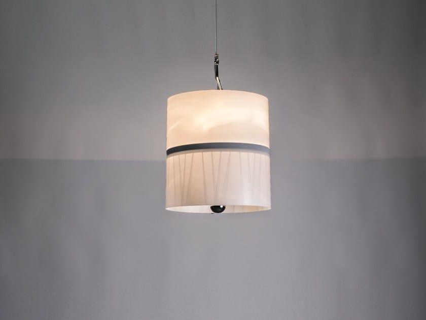 Lampada a sospensione in materiale riciclato PEDALA by SP Light and Design