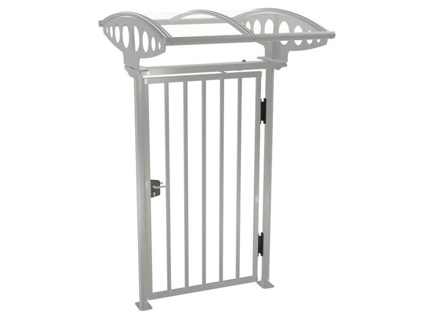 Swing steel pedestrian gate PEDGATE by Gunnebo