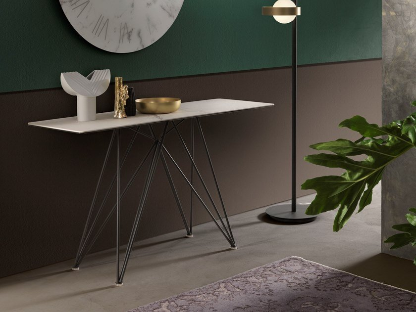 Rectangular console table PEGASO | Console table by RIFLESSI