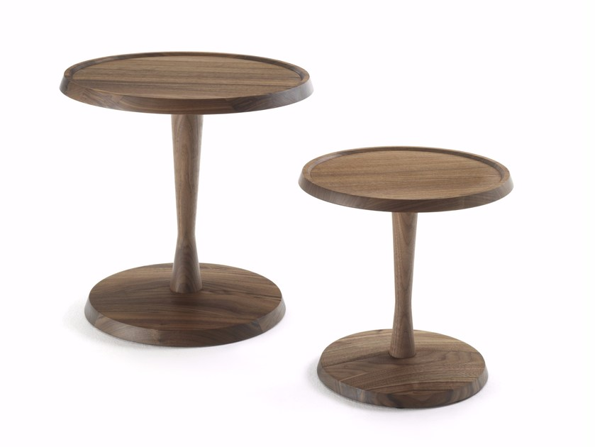 Round solid wood coffee table PEGASO by Riva 1920