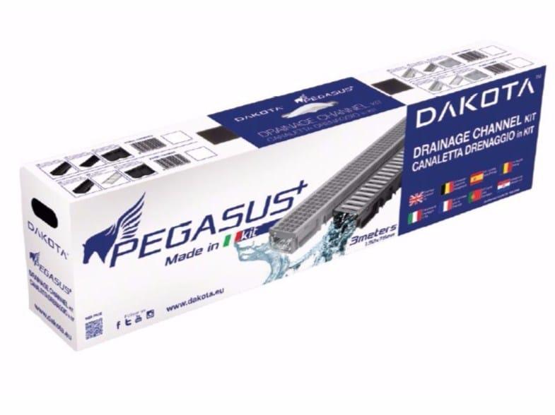 Polypropylene Drainage channel and part PEGASUS KIT by Dakota