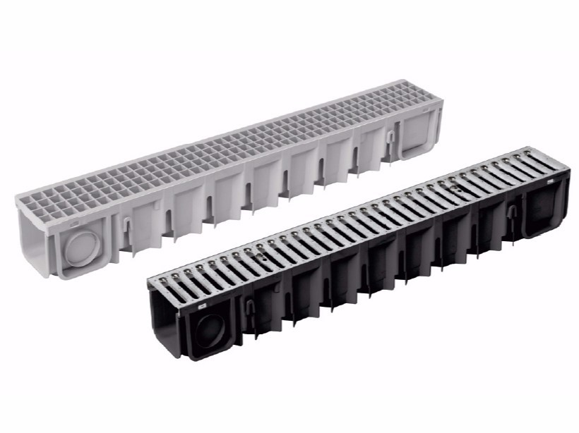 Polypropylene Drainage channel and part PEGASUS PLUS 130X120 by Dakota