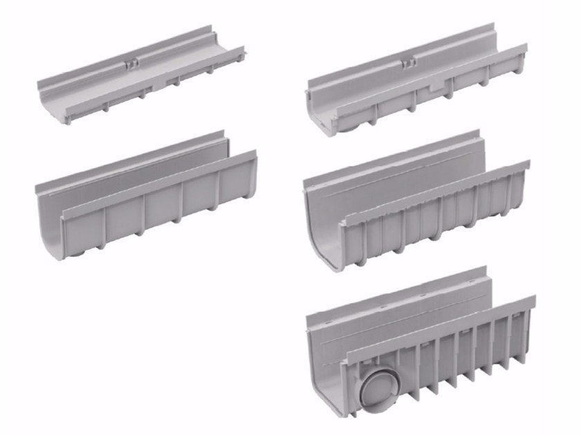 Polypropylene Drainage channel and part PEGASUS SHORT by Dakota