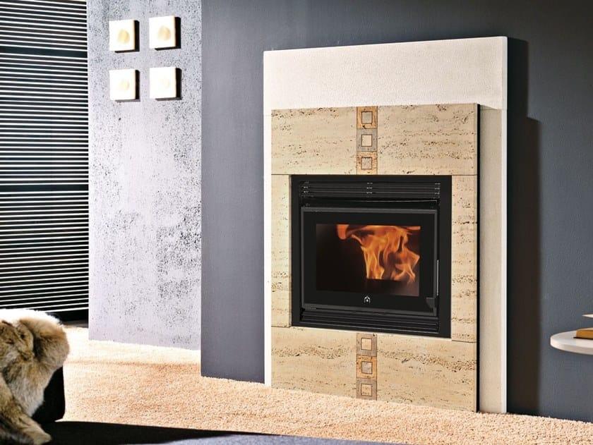Pellet Fireplace insert PELLKAMIN 10 by EDILKAMIN