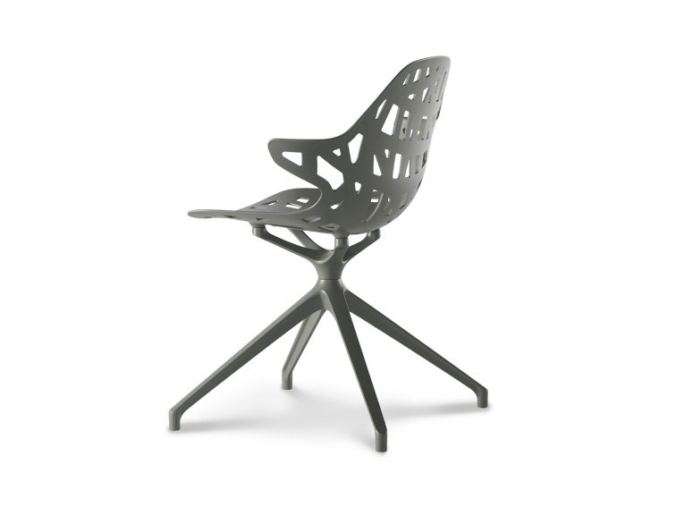 Swivel Trestle Based Die Cast Aluminium Chair Pelota