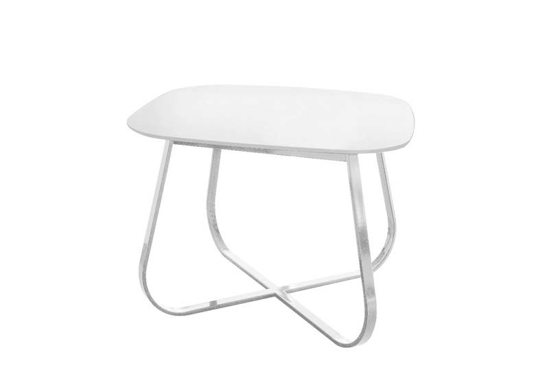 Extending square table PELOTE | Square table by Potocco
