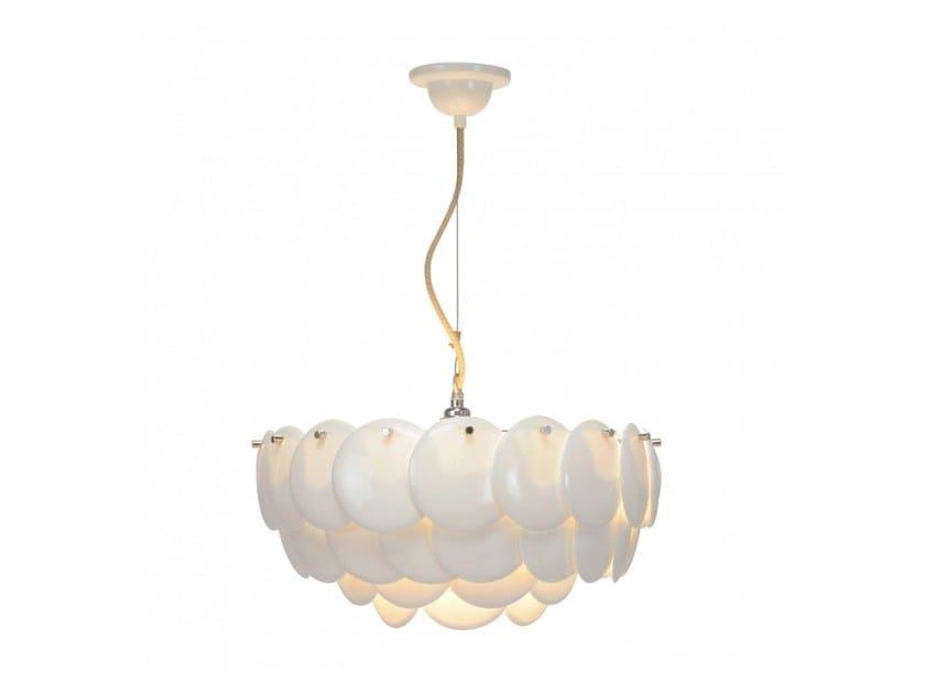 Direct light porcelain pendant lamp with dimmer PEMBRIDGE 2 by Original BTC