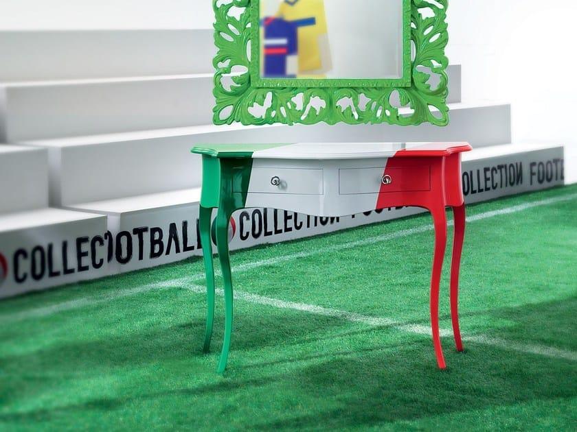 Con Cassetti Laccata Modenese Rettangolare Penalty KickConsolle Gastone jzSGLqVpUM